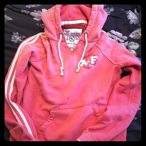 Abercrombie and Fitch vintage pink hoodie
